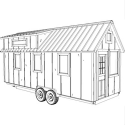Volstrukt | CHANTEYconfigurable lightweight steel frame tiny house kit