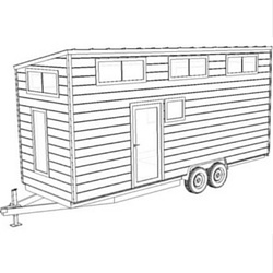 Volstrukt | JIMMY configurable lightweight steel tiny house kit