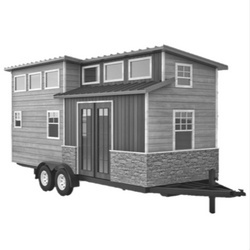 Volstrukt | TRAILBLAZER configurable lightweight steel tiny house kit