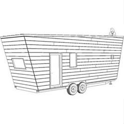 Volstrukt   VUE configurable lightweight steel tiny house kit