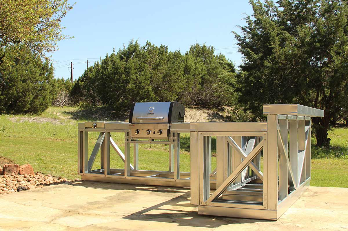 Volstrukt | Steel Outdoor Kitchen Frame Kits